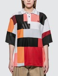 KOCHÉ Color Block Polo Picutre