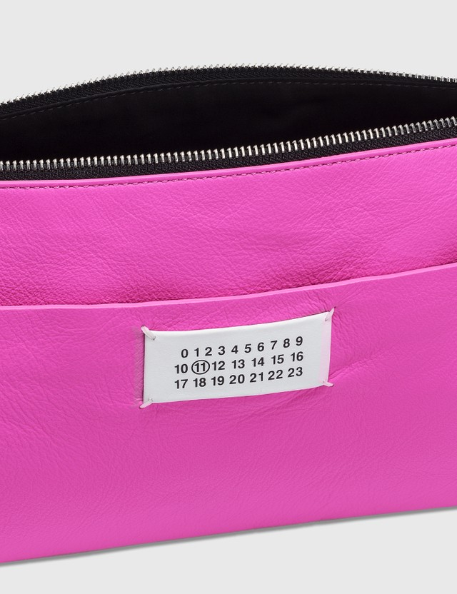 Maison Margiela Neon Clutch Pink Women