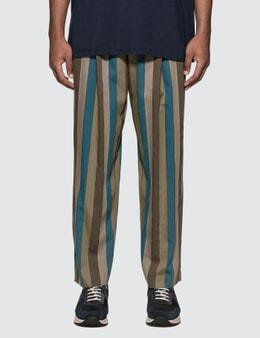 Maison Kitsune Single-pleated Pants