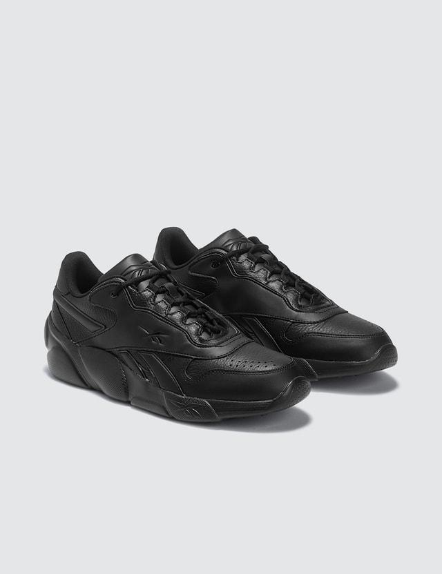 Reebok Premier Classic Leather Shoes Black Men