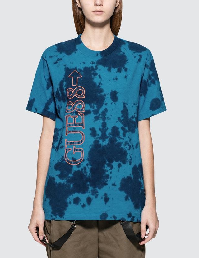 88Rising x Guess 88 Rising Tie Dye Short Sleeve T-shirt
