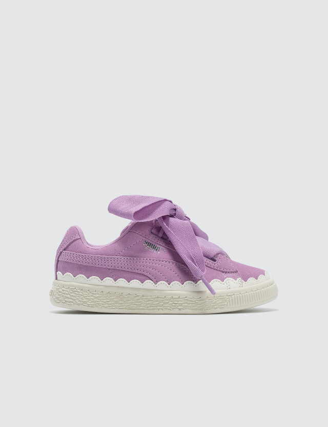 Puma Suede Heart Rubberized Pre-School