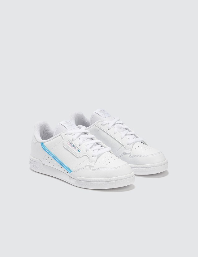 Adidas Originals Continental 80 C (Kids) White Kids