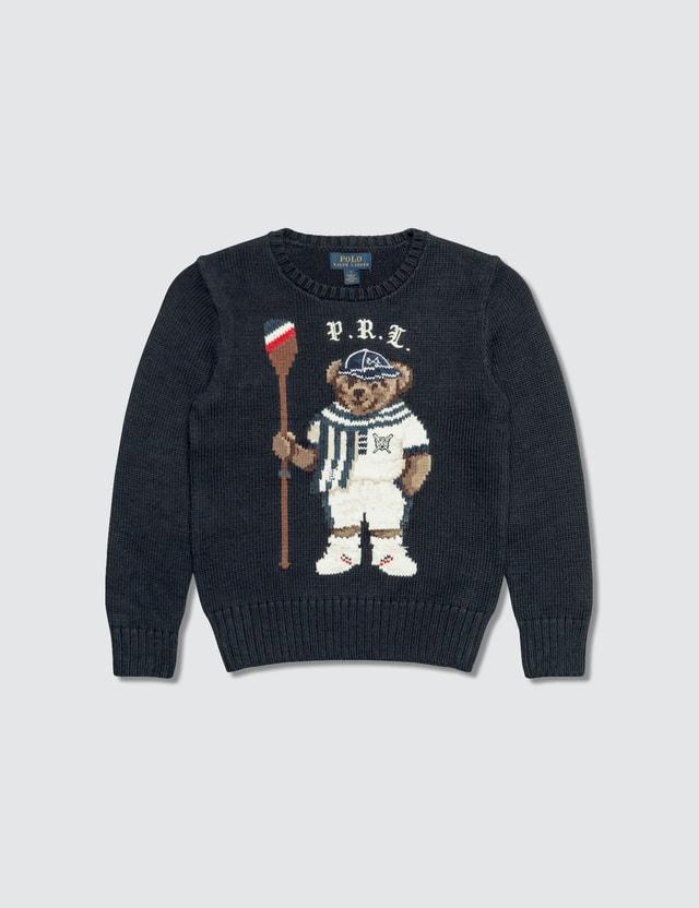 e593ac1d Rowing Bear Cotton Kids Sweater