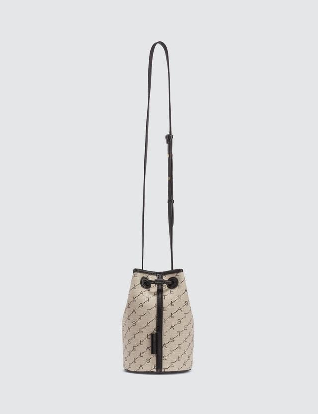 Stella McCartney Mini Bucket Bag With Monogram