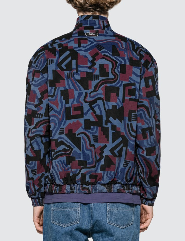 Napapijri x Martine Rose Abstract Allover Print Nylon Jacket