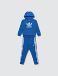 Adidas Originals Trefoil Hoodie and Pants Set 사진