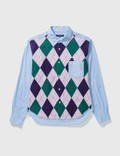 Comme des Garçons HOMME Comme Des Garçons Homme Patchwork Shirt Picture