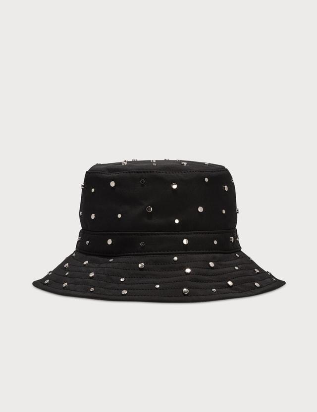 Ganni Studded Nylon Bucket Hats