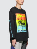 Rokit Vacation L/S T-Shirt Black  Men