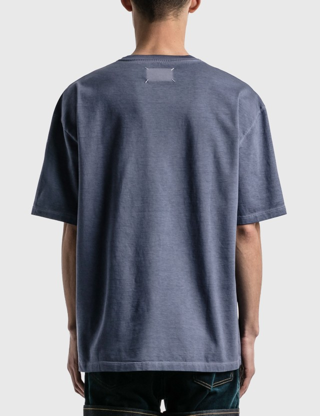 Maison Margiela 4 Stitches T-shirt Storm Blue Men