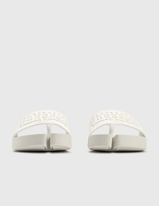 Maison Margiela Tabi Slipers Blanc Men