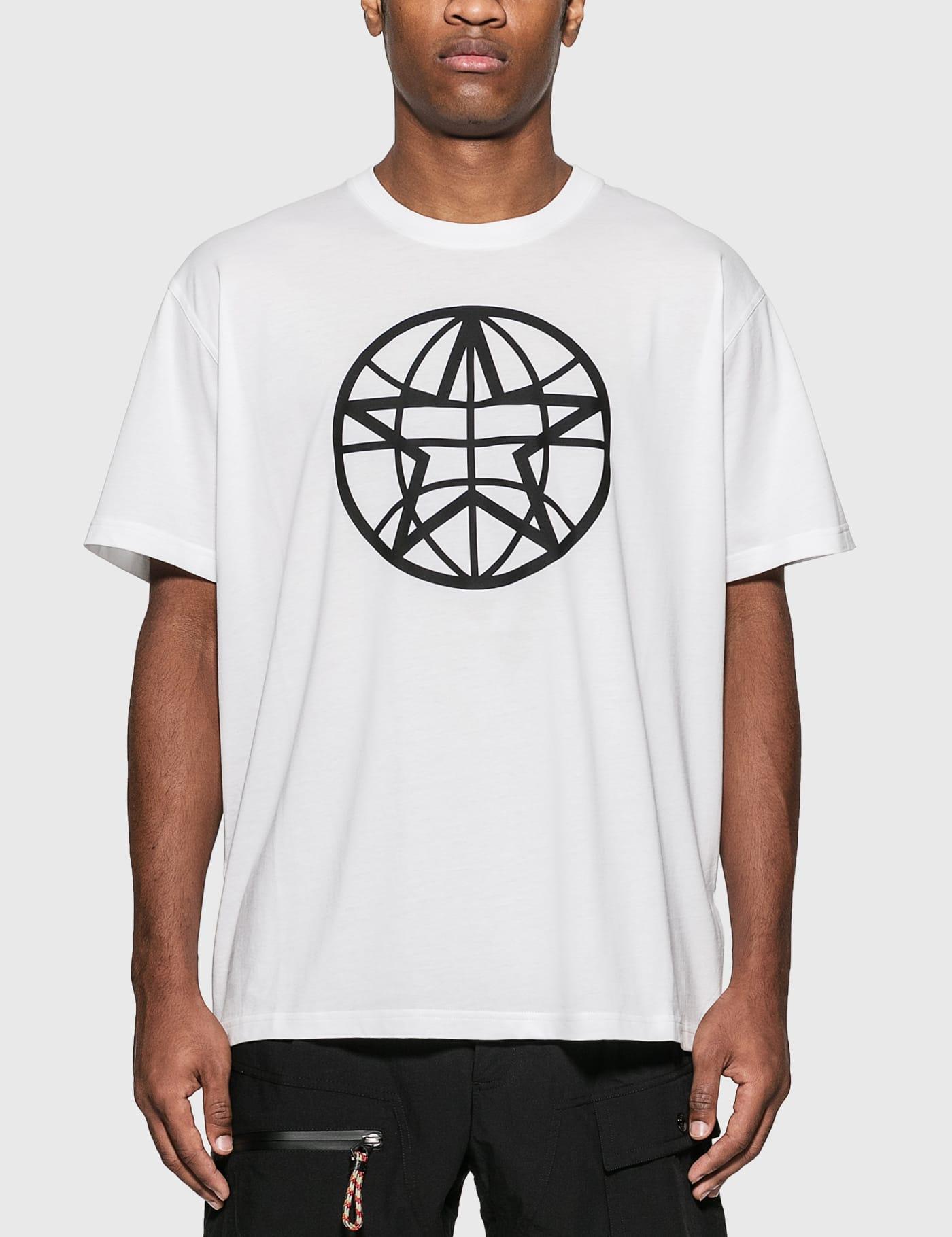 Globe Graphic Cotton Oversized T-Shirt