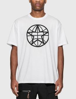 Burberry Globe Graphic Cotton Oversized T-Shirt