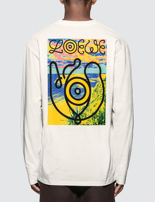 Loewe ELN Eye Long Sleeve T-shirt