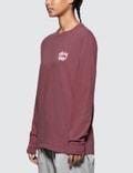 Stussy Dice Pig Dyed Long Sleeve T-shirt