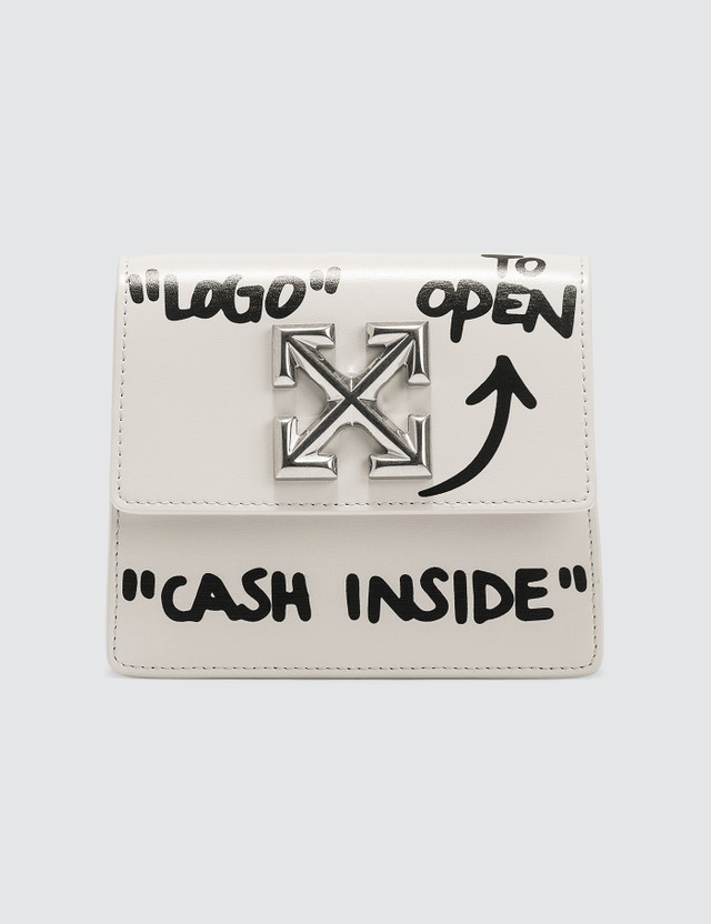 Off-White Jitney 0.7 Cash Inside Crossbody Bag