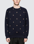 Maison Kitsune Fox Head Patch Embroidery Sweatshirt Picture