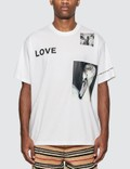 Burberry Montage Print Cotton T-Shirt 사진