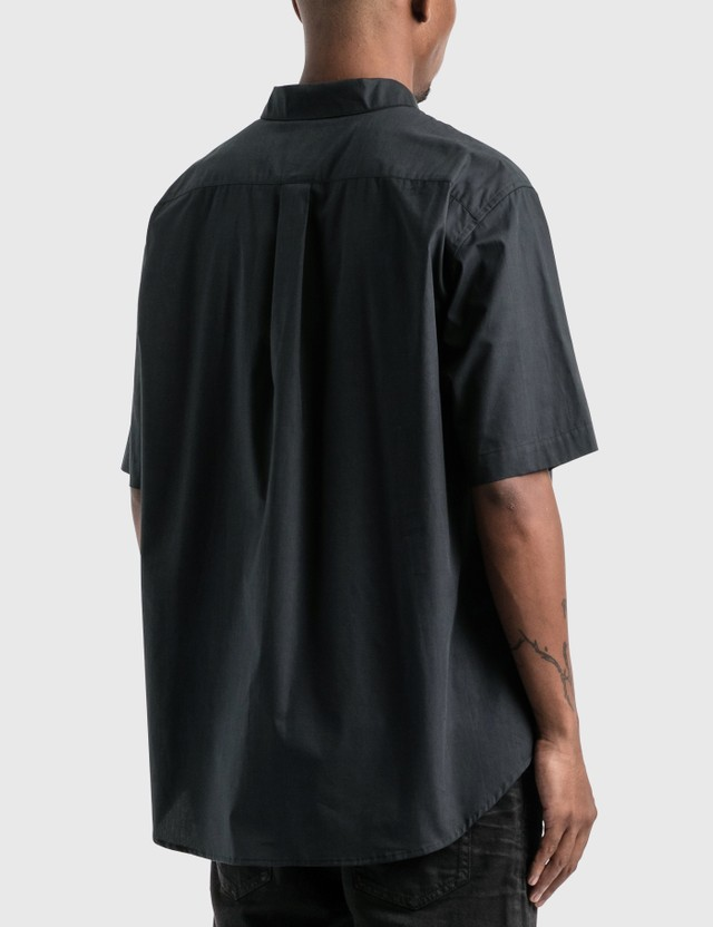 Marcelo Burlon 매드 페이스 셔츠 Black Blue Men