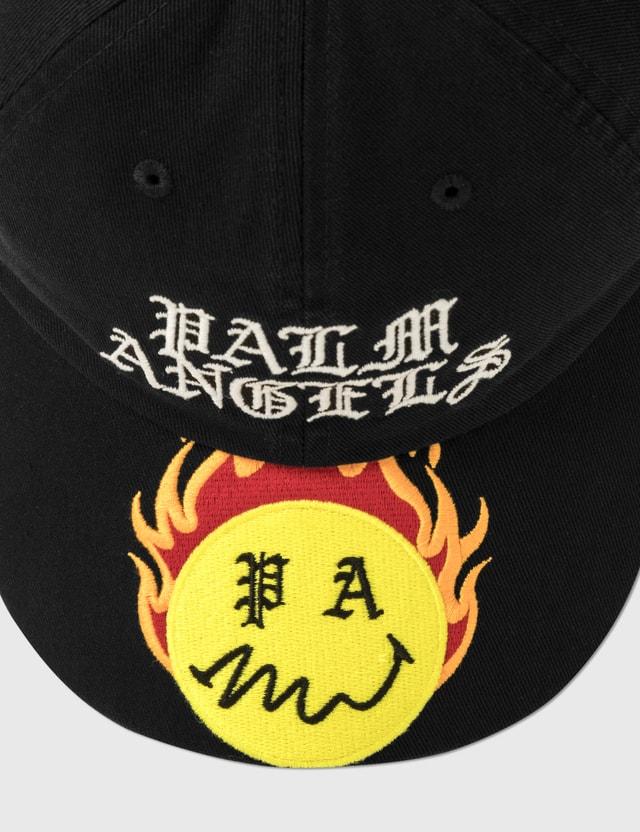 Palm Angels Burning Head Cap Black Men