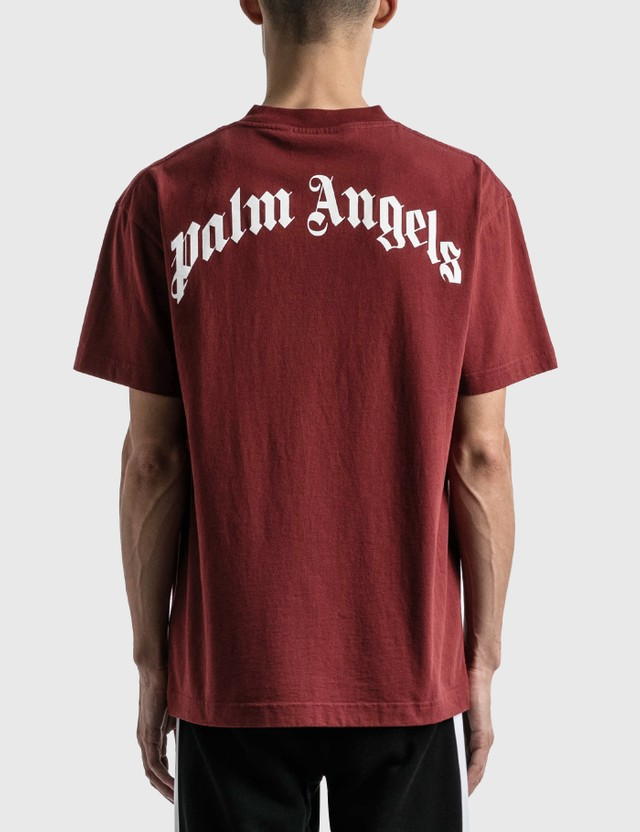 Palm Angels Palm Angels Bear Classic T-shirt Red Men