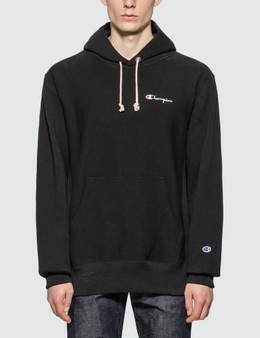 Champion Reverse Weave Small Script Hooded Sweatshirt