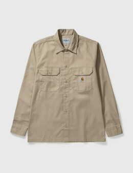 Carhartt Work In Progress Master Long Sleeve Shirt
