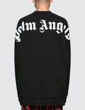 Palm Angels Logo Over Crewneck Picture