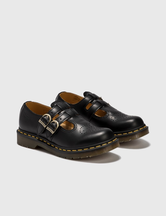Dr. Martens 8065 Mary Jane Smooth Leather Shoes