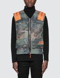 Heron Preston Ctnmb Camo Multipockets Vest Picture