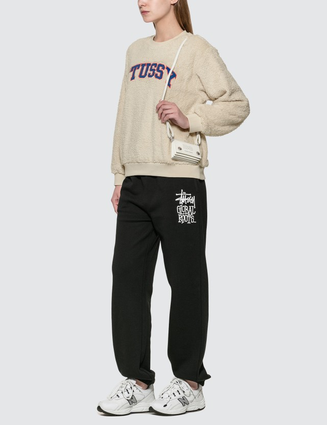 Stussy Pilar Sherpa Crew Sweatshirt