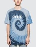 Huf OG Logo Spiral Wash S/S T-Shirt Picture