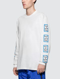 Have A Good Time Blue Arm Frame L/S T-Shirt