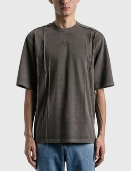 Ader Error Needle Logo T-shirt