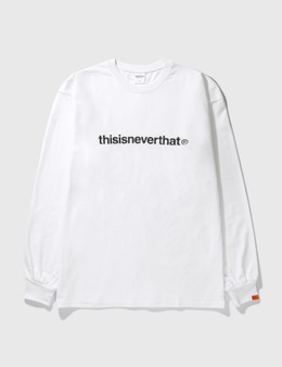 Thisisneverthat T-logo Long Sleeve T-Shirt