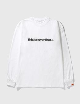 Thisisneverthat T-logo Long Sleeve T-Shirt