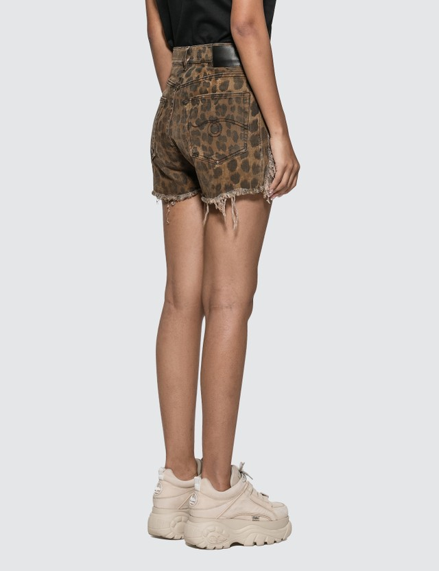 R13 Shredded Slouch Short