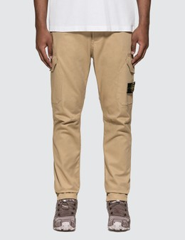 Stone Island Stretch Cotton Garbadine Pants