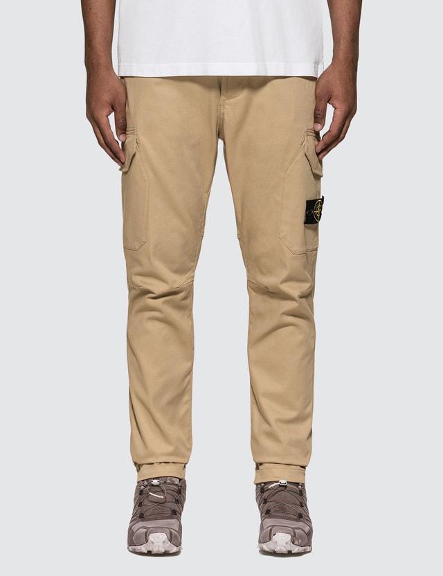 Stone Island Stretch Cotton Garbadine Pants