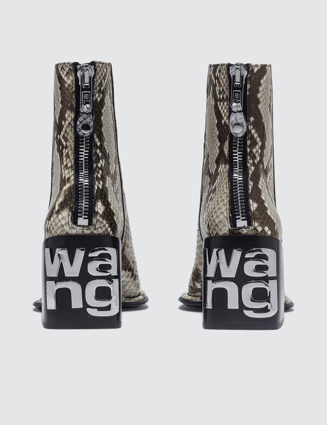 Alexander Wang Parker Roccia Snake Print Emboss Boots