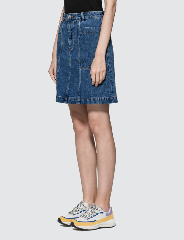 A.P.C. Stella Denim Skirt