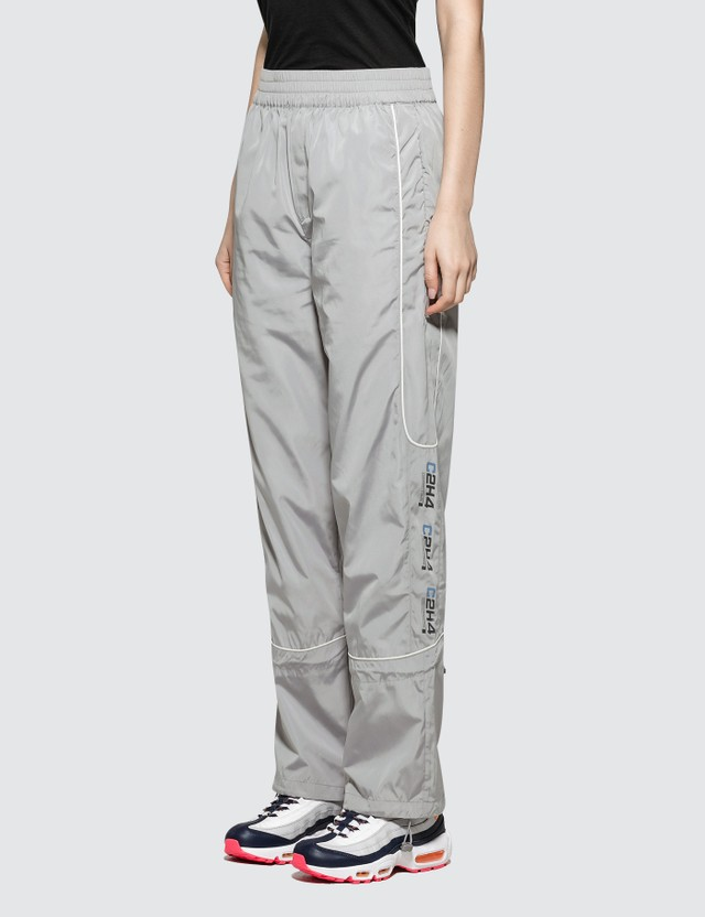 C2H4 Los Angeles Logo Print 3M Track Pants