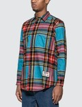 Just Don Islanders Plaid Shirt =e29 Men