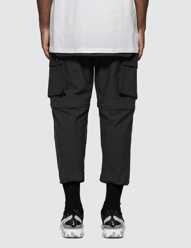 Guerrilla-group Two-way Cargo Pants in Black