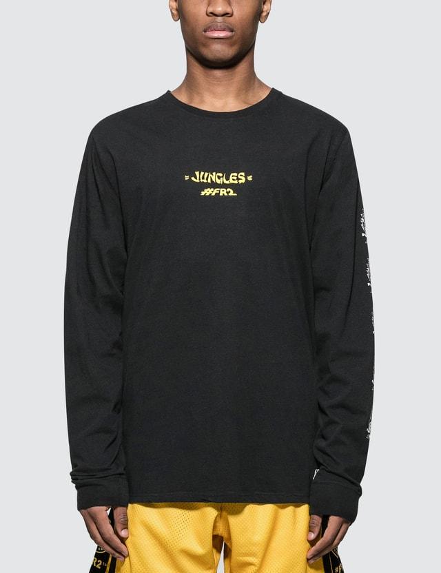 #FR2 #FR2 x Jungles Natas Sphinx L/S T-Shirt