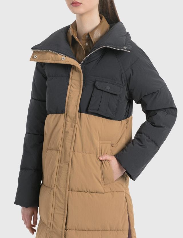 Ganni Heavy Tech Oversized Puffer Coat
