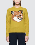 Maison Kitsune Fox Head Pullover Picture