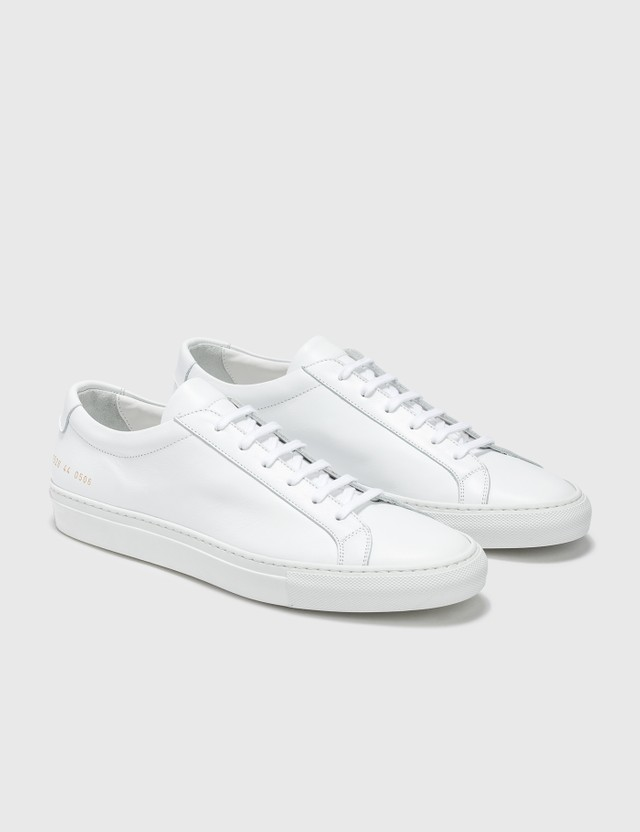 Common Projects Original Achilles Low White Men