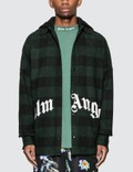 Palm Angels Hoody Logo Overshirt Picture